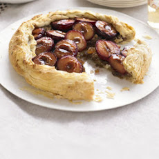 Plum & Ginger Tart