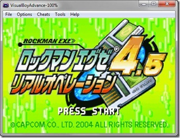Download GBA Rockman EXE 4.5 Real Operation Japan for PC (Emulator + Rom)