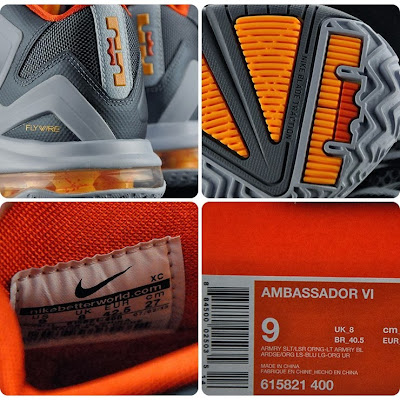 nike air max ambassador 6 gr laser orange 2 11 First Look at Nike Ambassador VI (6) Laser Orange