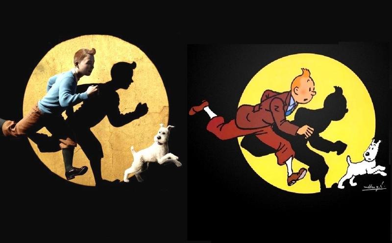 Double couv Tintin 4