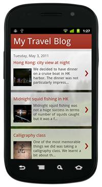 Blogspot Mobile Version