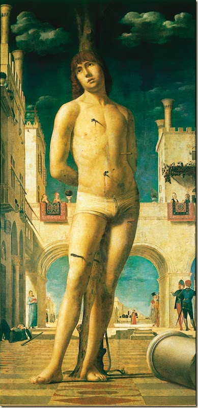 Antonello da Messina, St Sbastien