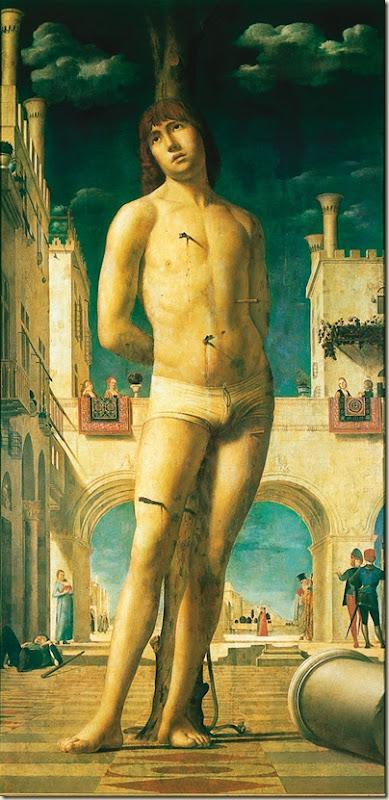 Antonello da Messina, St Sébastien