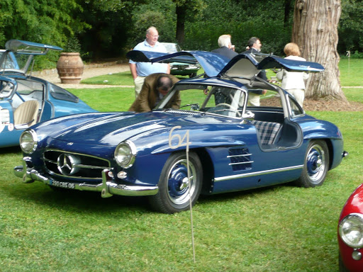 mercedes 300 sl chassis