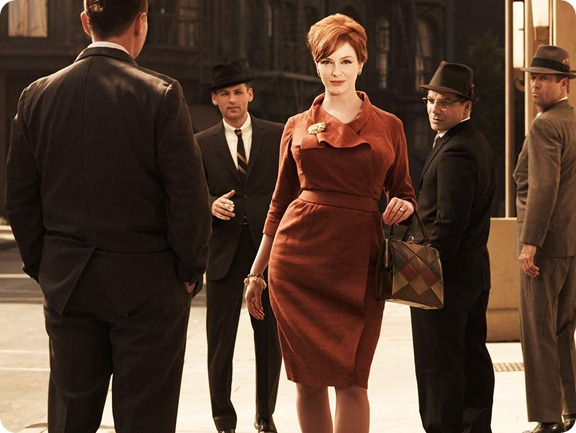 Style: &quot;Mad Men&quot;<br />Joan Holloway (Christina Hendricks)