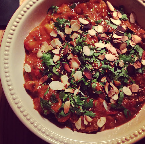  Ute cooks:  MOROCCAN LAMB TAGINE