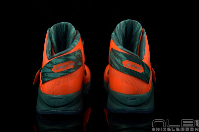 lebrons soldier6 orange camo 43 web black The Showcase: Nike Zoom Soldier VI Orange & Hasta Camo