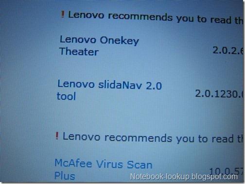 บันทึกการใช้งาน Lenovo Y460P บน Windows 7 bit