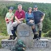 Marie, Michael, Mary & Derek @ Glendine Gap.jpg