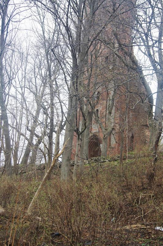 Ruine der evangelischen Kirche