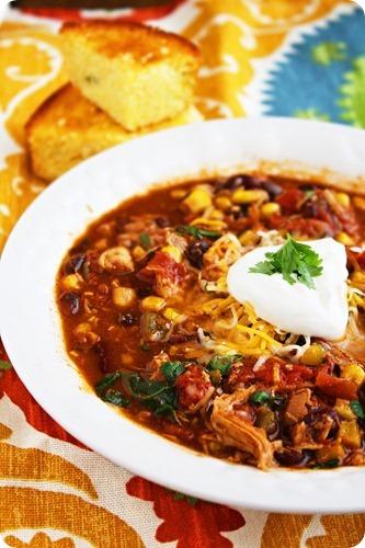 white ground chicken chili crockpot recipe