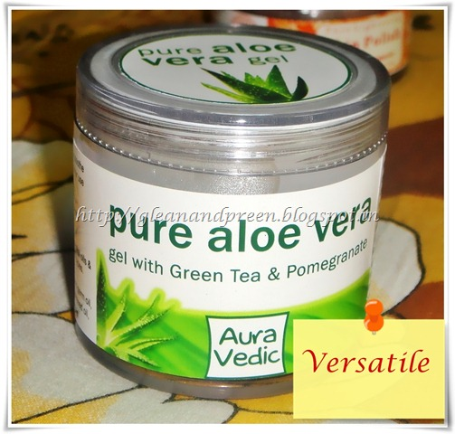 Review Auravedic Aloevera Gel