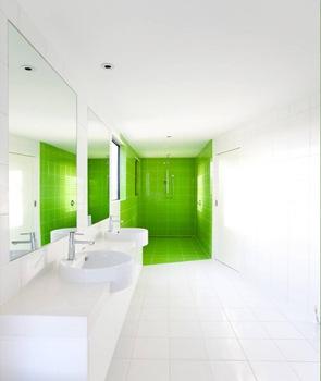baño-revestimento-azulejo-verde