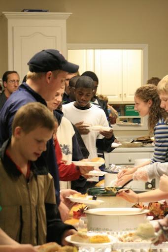 Teen Bible Club Thanksgiving. Nov 21, 2007. Photos: 31