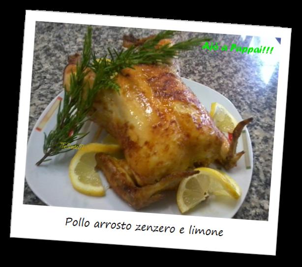 Immagine della ricetta pollo arrosto zenzero e limone