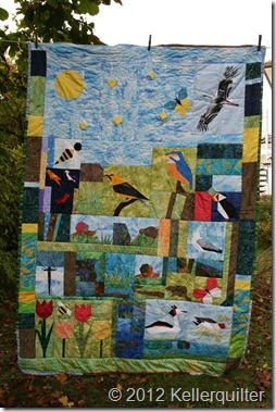 Quilt037-Vogelquilt