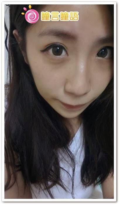 韓國GEO隱形眼鏡-自然金咖6