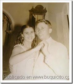 Doña Ramona Baez y Enrique Amorós Boix