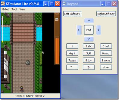 KEmulator View Keypad