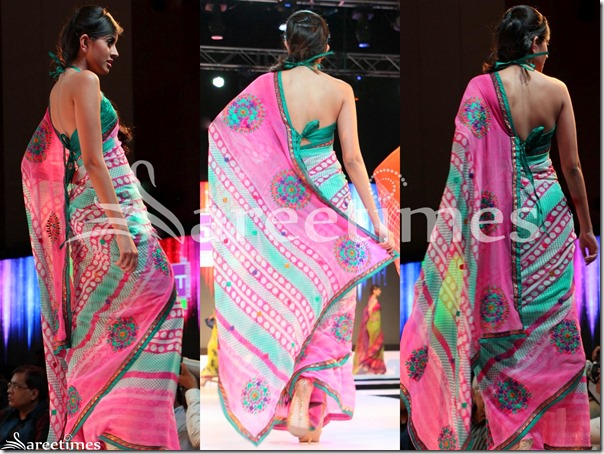 Pink_Georgette_Printed_Saree