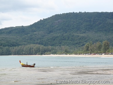 Long Boat On Kamal Beach
