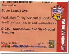 Wildcats vs Broncos stub