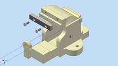 Vise(Sub Assembly-1)