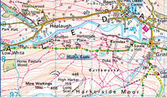 swaledale map