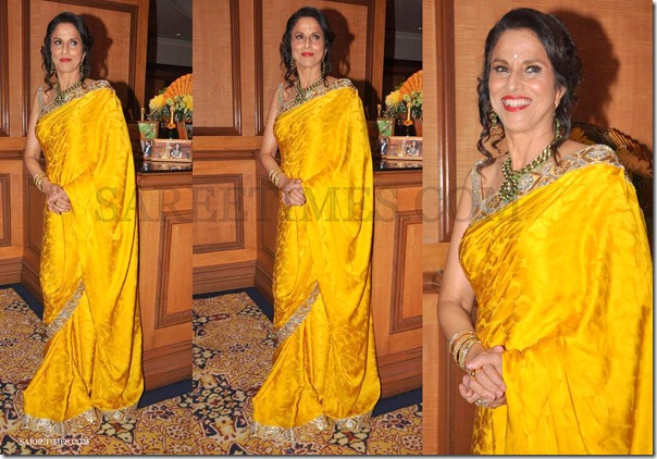 Shobha_De_Yellow_Saree