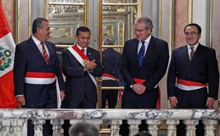 Nombres de los ministros del per 2017 2014 for Nuevo ministro del interior peru