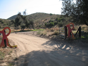 Entrance to Ranchita Rocks