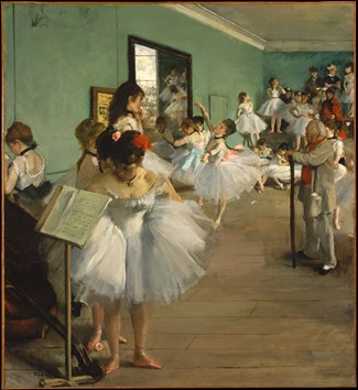 A aula de dança (Edgar Degas, 1874) – Metropolitan Musem of Art [www.metmuseum.org/collection]