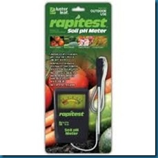 Soil tester from Amazon