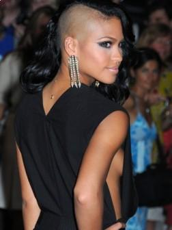 Cassie with Cool Short Hairstyle