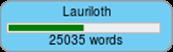 NaNoWriMo 2014 Wordcounter (25k)