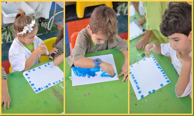 Infantil 5 Manhã - Pintura