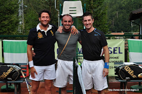 Da sinistra: il vincitore Federico Michele e Patrik Rosati.