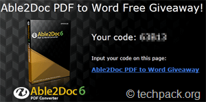 able2doc free code