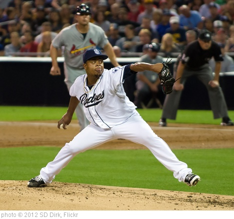 'Edinson Volquez' photo (c) 2012, SD Dirk - license: http://creativecommons.org/licenses/by/2.0/