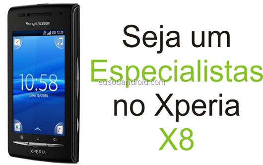 Especialista Xperia X8