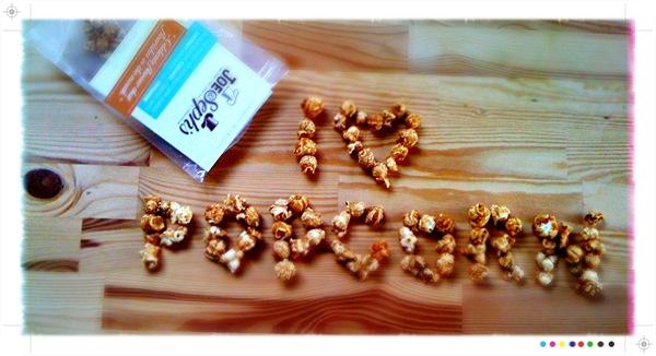 I love Joe & Seph's Gourmet Popcorn
