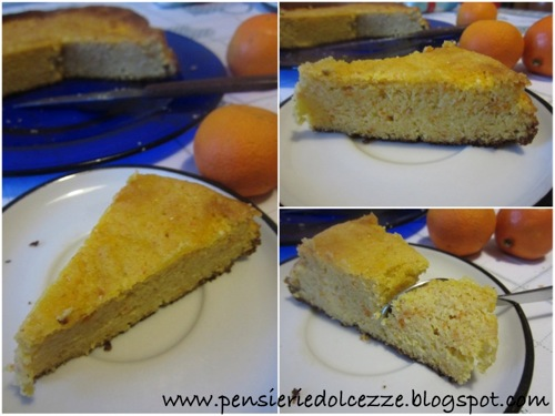 Torta di Clementine e Mandorle 1