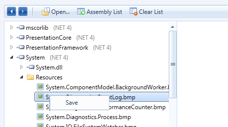 Extract resources from assemblies