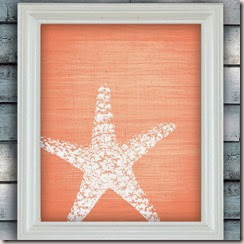 Starfish Wish - Beach Theme Art Poster