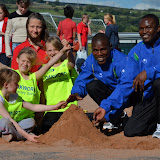 Keighley Open Track with Tanzania stars 18.07.2012 copyright Dave Woodhead