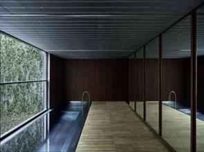 piscina cubierta casa moderna