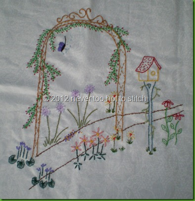 2012 archway embroidery nearly done
