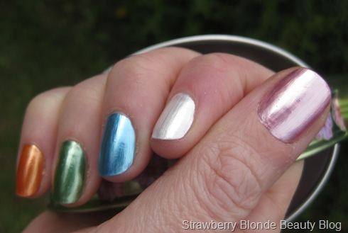 MyFace Lil Bling Nail Polish Swatches (2)
