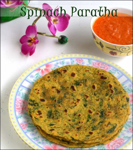 Spinach-Paratha