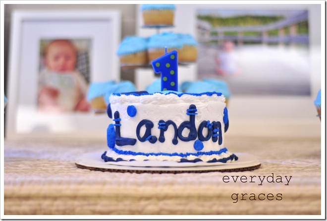 Landons 1st Birthday 053